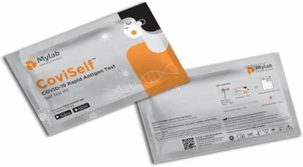 klearX CoviSelf COVID-19 Rapid Antigen Self Test Kit Kit Pack of 2 Antigen Self Test Kit