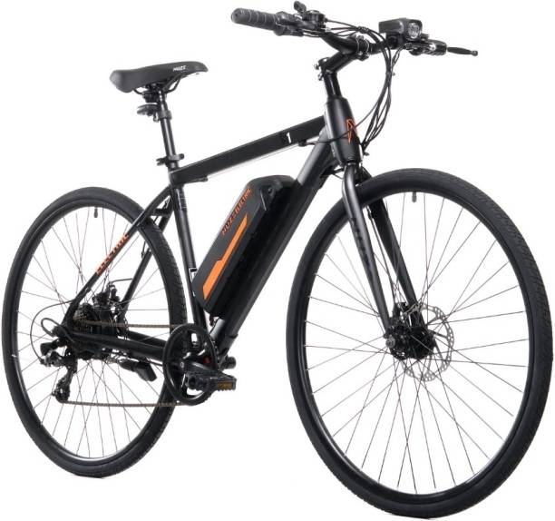 Nuze S1 28 inches 7 Gear Lithium-ion (Li-ion) Electric Cycle