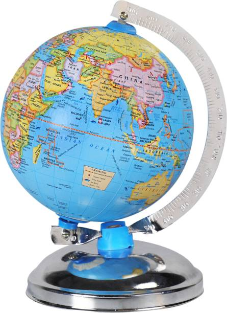 surya globe Globe for Kids, MITTAL Educational World Globe for Kids/Office Globe/Political Globe/Globes for Students Desk & Table Top Political World Globe