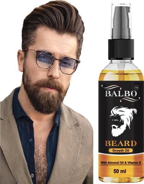 BALBO 100% Natural Beard Growth Oil - (Argan and Jojoba)  Hair Oil