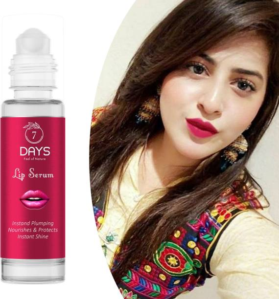 7 Days Pink Lip Serum -With Vitamin E- For Glossy & Shiny Lips with Moisturizing Effect- 30ML Lip Stain strawberry strawberry