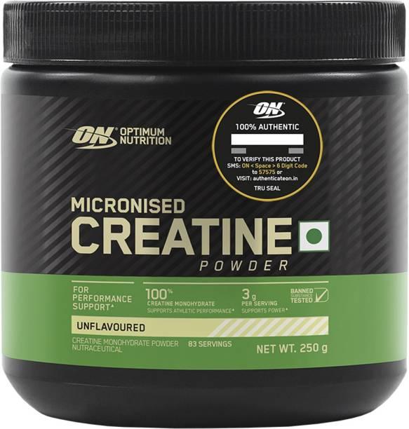 Optimum Nutrition ON Micronized Creatine Powder, Supports Athletic Performance & Power, 83 serves Creatine
