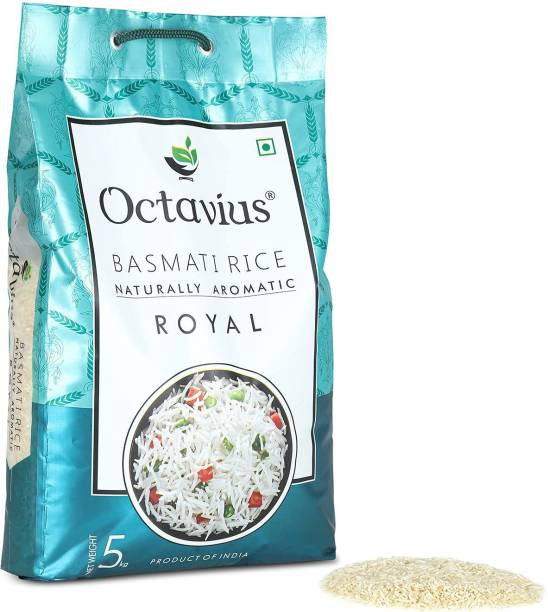 Octavius Royal Aromatic and Flavourful Everyday Use Basmati Rice (Medium Grain, Steam)