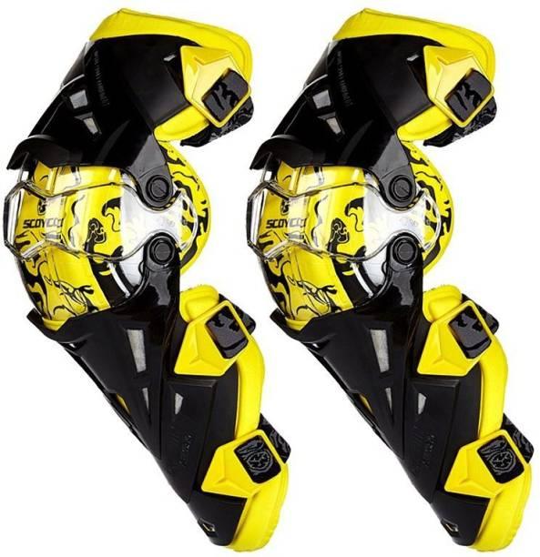 Aklin Boky Knee Guard Free Yellow, Black