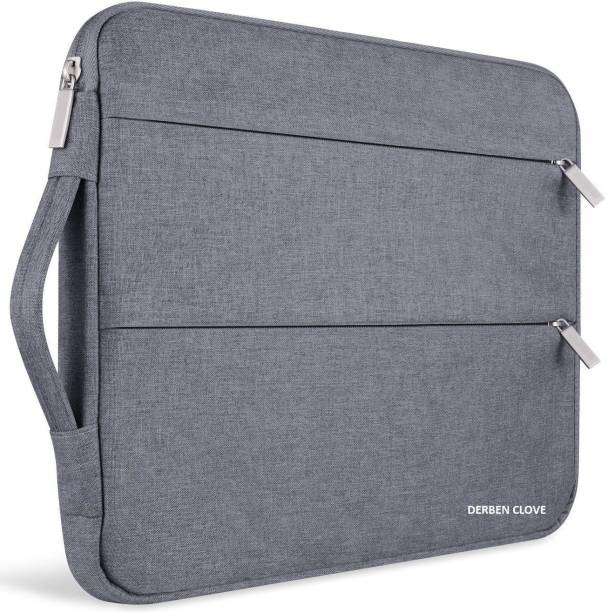 DERBEN CLOVE 15 inch Laptop Thinkpad Cover Sleeve case with Inner fur Cushion material for Men and Women Laptop Bag Cover