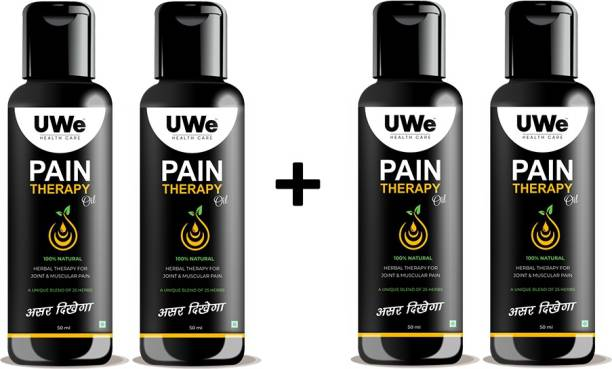 UWE HEALTH CARE PAIN THERAPY OIL-50 ml- PACK OF 4 Liquid