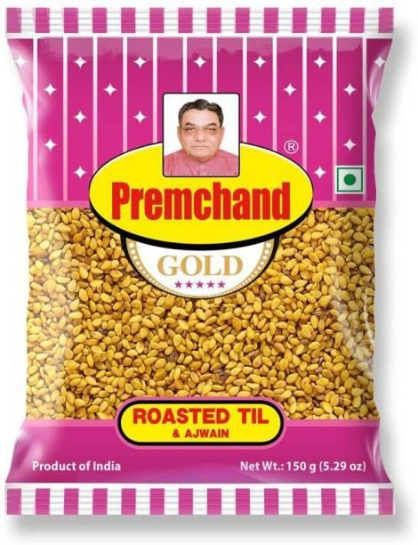 premchand Roasted Til & Ajwain (3 x 150 g) Salty Mouth Freshener