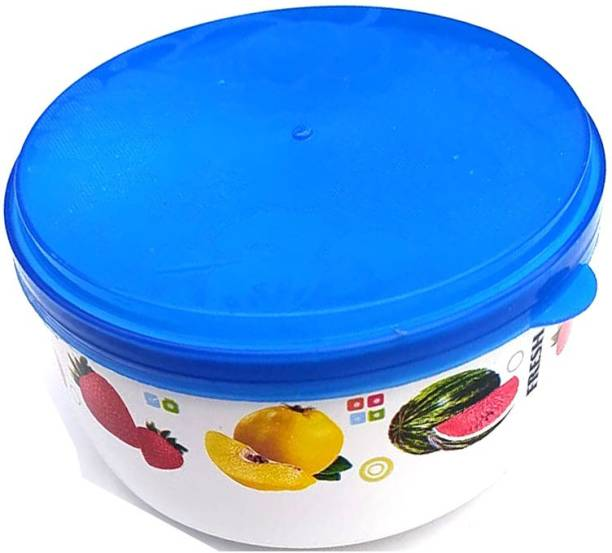 AMNEE 800MLx1  Bule   Nesterware Food Storage Container for Pulses   Sugar   Tea   Cereals   Traveling   Office   Lunch Boxes   Kitchen Organizer  - 800 ml Plastic Grocery Container