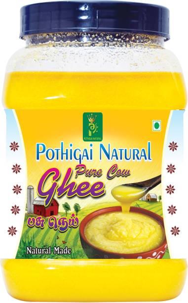 POTHIGAI NATURAL 100% PURE NATURAL COW GHEE 500ML 500 ml Plastic Bottle