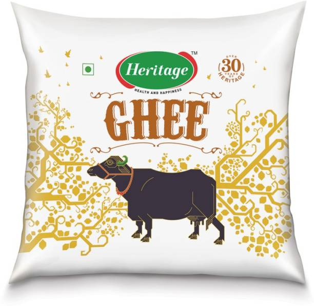 Heritage Agmark Ghee 500 ml Pouch