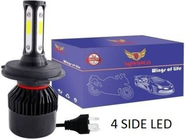 Miwings LED Headlight for Universal For Bike, Universal For Car