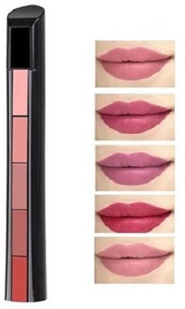 NYN HUDA Ultra Smooth Beauty Creamy Matte 5 in1 Fab Lipstick