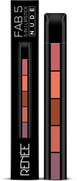 Renee Fab 5 Nude (5 in 1 Lipstick),