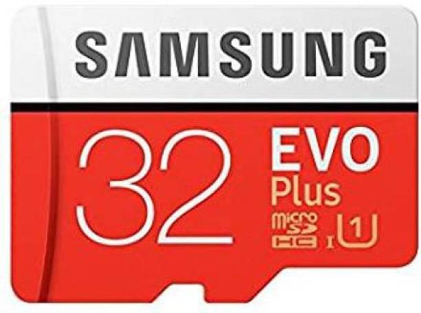SAMSUNG ORIGINAL EVO Plus 32 GB SD Card Class 10 95 MB/s  Memory Card