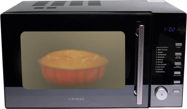 Croma 25 L Convection & Grill Microwave Oven