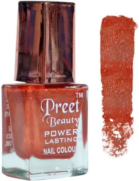 PreetBeauty Premium Matte Nail Paint Super Shine Nail Polish Brown