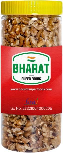 Bharat Super Foods Chile Walnut Kernels without Shell (Akhrot Giri) Grade 8 Pc (500gm Jar Pack) Walnuts