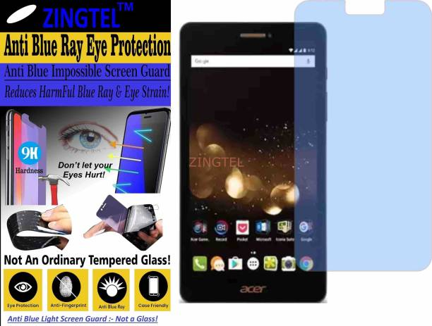 ZINGTEL Impossible Screen Guard for ACER ICONIA TALK S (Impossible UV AntiBlue Light)
