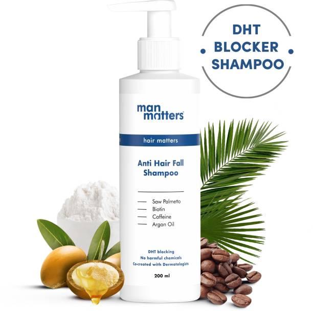 Man Matters Anti Hair Fall Shampoo for Men | DHT Blocker | Sulphate & Paraben Free (200 ml)