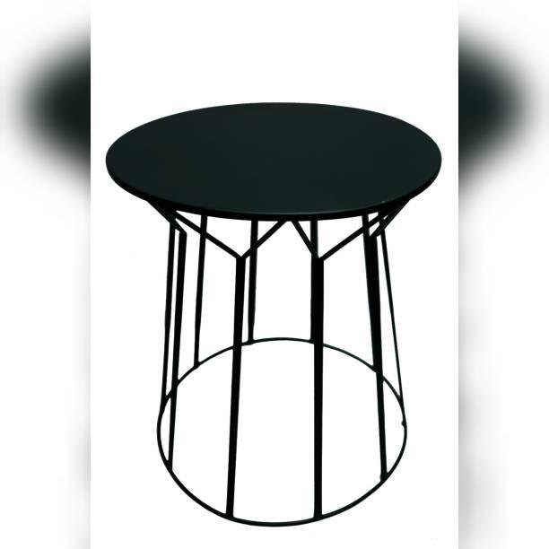 Handicraft Black Iron Metal Side Table