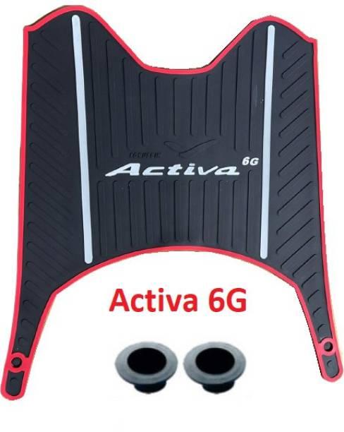 Zealsy Honda Activa 6G Premium Quality Foot Mat Honda Activa 6G Two Wheeler Mat