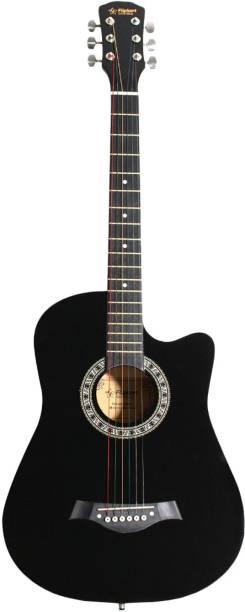 Flipkart SmartBuy RS - G38C BK Acoustic Guitar Linden Wood Linden Wood