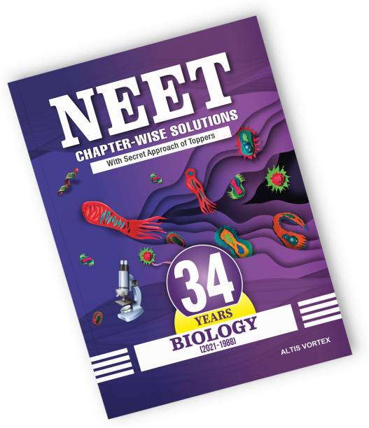 NEET 34 Years Chapter-wise Solutions with Topper's Secret Approach & NCERT Page-wise Reference - Biology (2021-1988) Papers