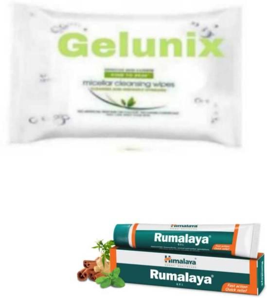 gelunix Wipes and rmly gel