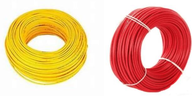 vinytics PVC Yellow, Red 180 m Wire