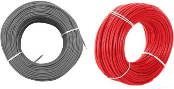 vinytics pvc red and pvc black Red 90 m Wire