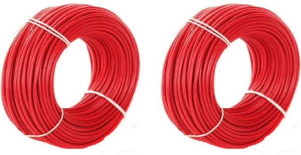 vinytics pvc red and red Red 90 m Wire