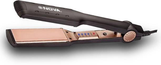 Nova Temperature Control Professional NanoTitanium Coated NHS 901 Hair Straightener