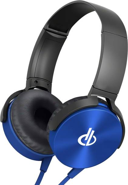 digibuff MDR-XB450 On-Ear EXTRA BASS Headphones with Mic Wired Headset