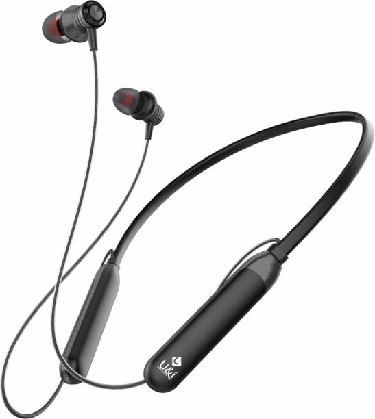 U&I Tiger Series 40 Hours Music Time Wireless Neckband with Mic Bluetooth Headset
