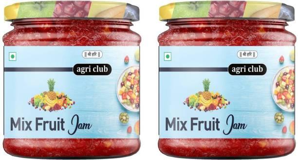 AGRI CLUB Super Mix Fruit Jam ( each 200g ) 400 g