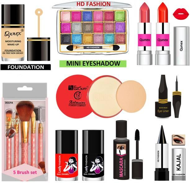 Lady Fashion 15 Pcs. Xclusive Makeup Kit XCM01S036