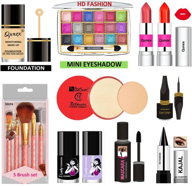 Lady Fashion 15 Pcs. Xclusive Makeup Kit XCM01S014