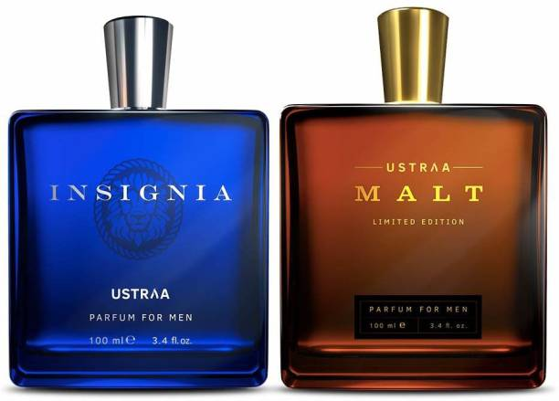 USTRAA Fragrance Bundle - Malt & Insignia - Perfume for Men Eau de Parfum  -  200 ml