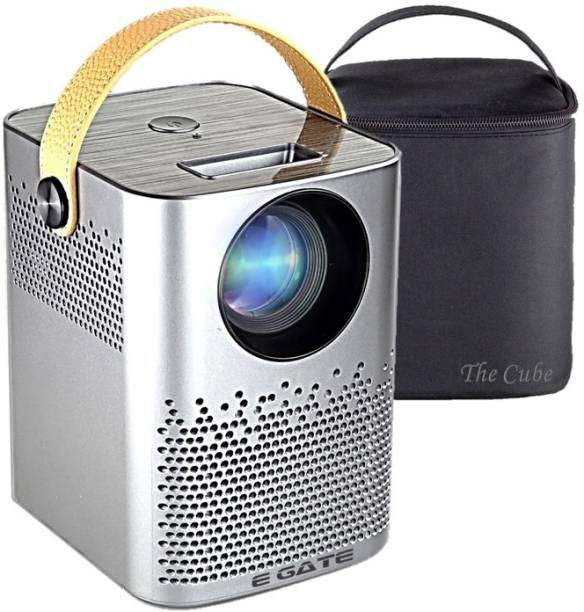 Egate C9 Cube HD ±45° Digital Keystone (3300 lm / 1 Speaker / Remote Controller) Portable Projector