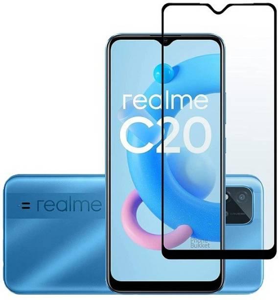 SHIELD Edge To Edge Tempered Glass for Realme C20