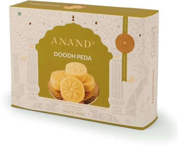 Anand Rich Milk and Sulfur Free Sugar Doodh Peda with Premium Saffron Box