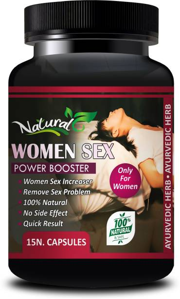 Natural Women Sex Power Booster Sexual Capsules For Improves Mood Maximizes Sensitivity Increases Sexual Desire & Intensity 100% Ayurvedic & Organic