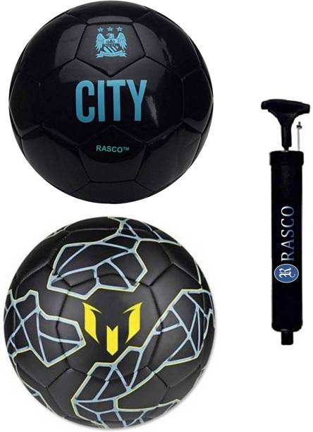 RASCO MESSI AND CITY WITH PUMP Football - Size: 5
