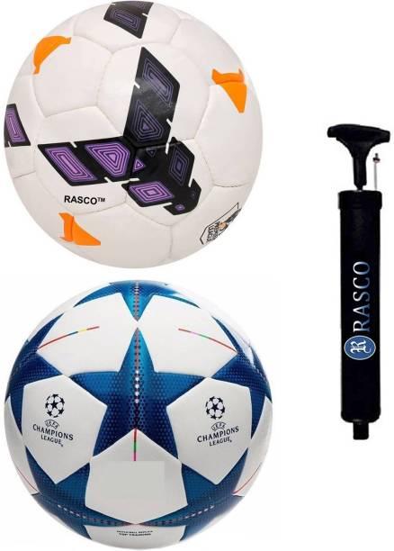 RASCO BLUE STAR AND PURPLE STRIKE WITH PUMP Football - Size: 5