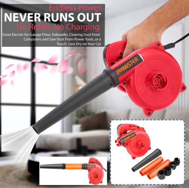 Jakmister Unbreakable Anti-Vibration With 2 Extension Pipe Vacuum Cleaner/ Electric Air Blower and Suction Dust Cleaner for AC/Computer/Home Forward Curved Air Blower