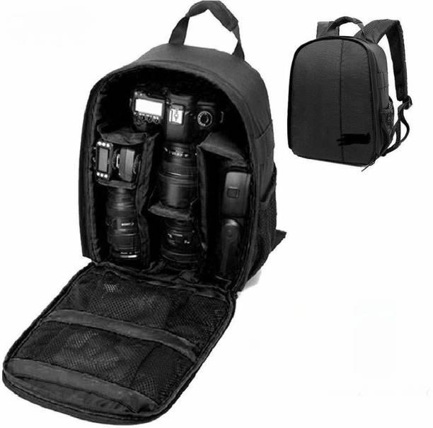 ALFASIYA Universal Lightweight DSLR Camera Lens Bag Camera Bag (Black,)  Camera Bag