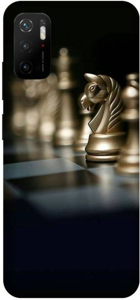 TPM Back Cover for Poco M3 Pro 5G, Horse, Chess, Game
