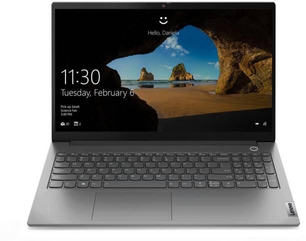 Lenovo Thinkbook Core i3 11th Gen - (8 GB/512 GB SSD/Windows 10 Home) TB15 ITL G2 Thin and Light Laptop