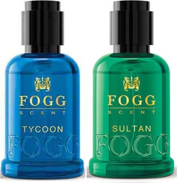 FOGG Scent Tycoon & Sultan Eau De Perfume 2X30ml Perfume Body Spray  -  For Men