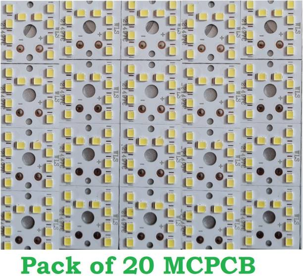 SG Flash (pack of 20) 9w MCPCB Led Raw Material For Led Bulb Light Electronic Components Electronic Hobby Kit